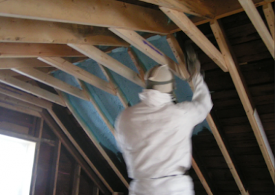 roof sparying interior