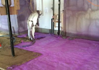 unfinished floor spray