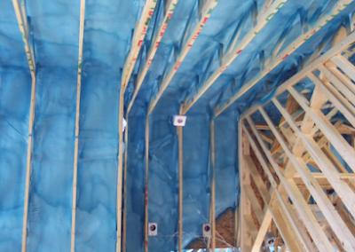 vaulted ceiling spray