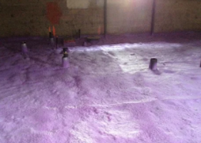 basement floor spray