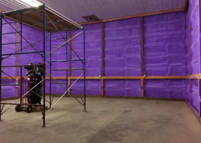 finished large spray job