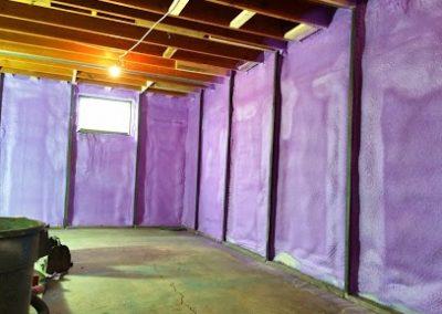 basement wall spray