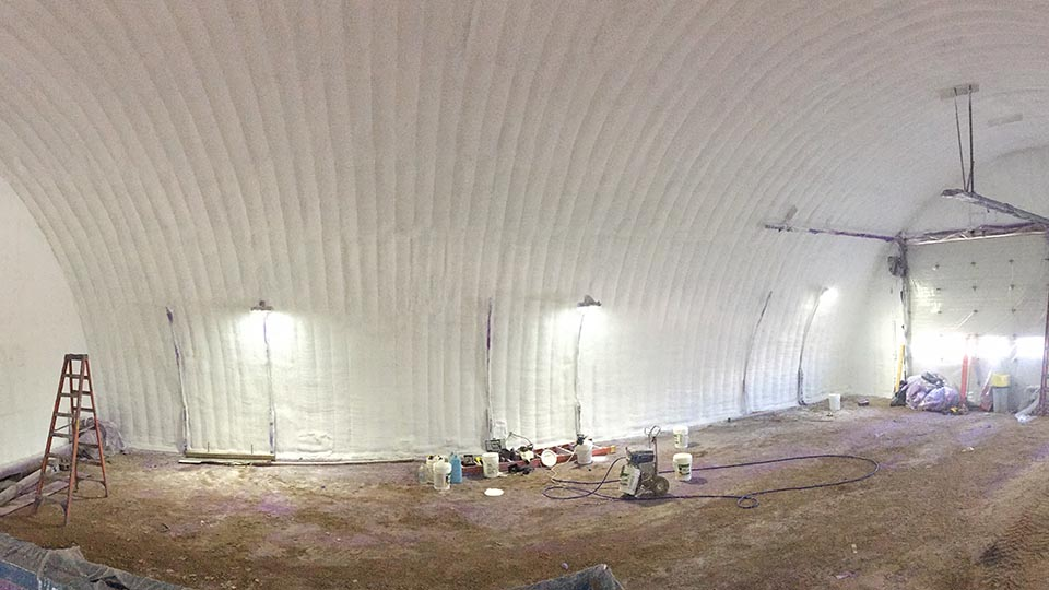 Spray Jones Inc-Regina-RCMP Quonset 3